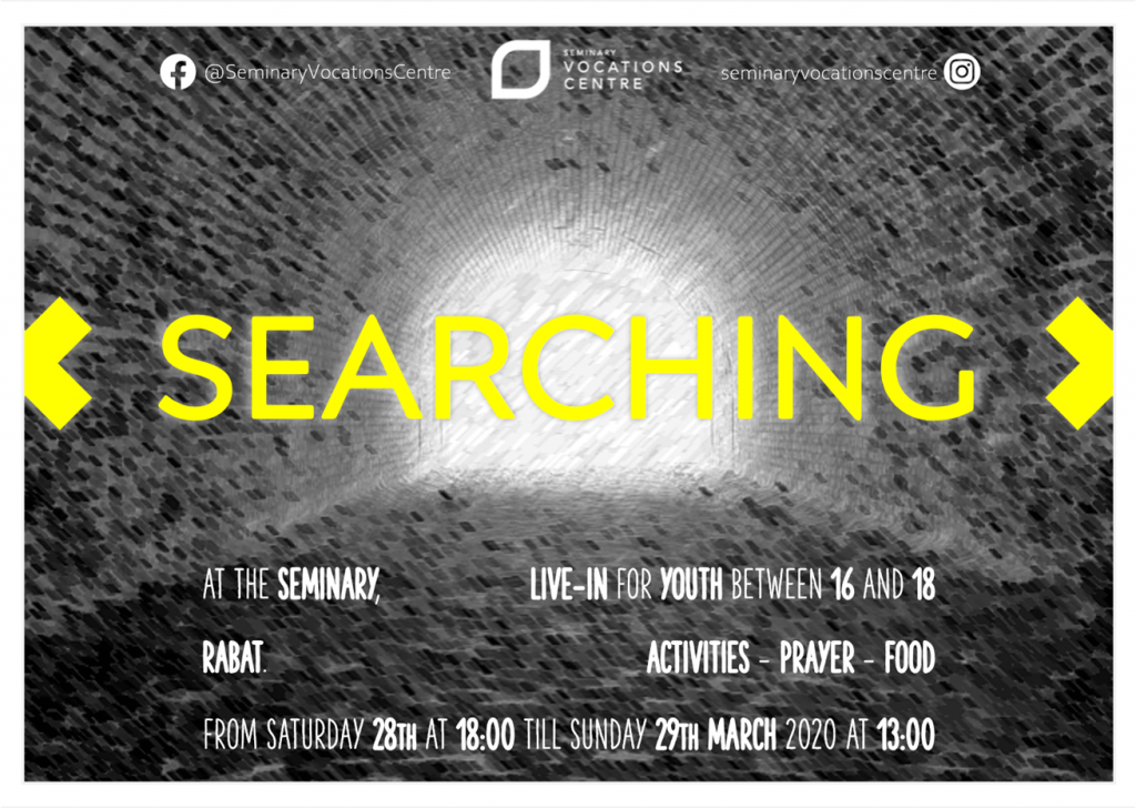 searching march 2020 poster